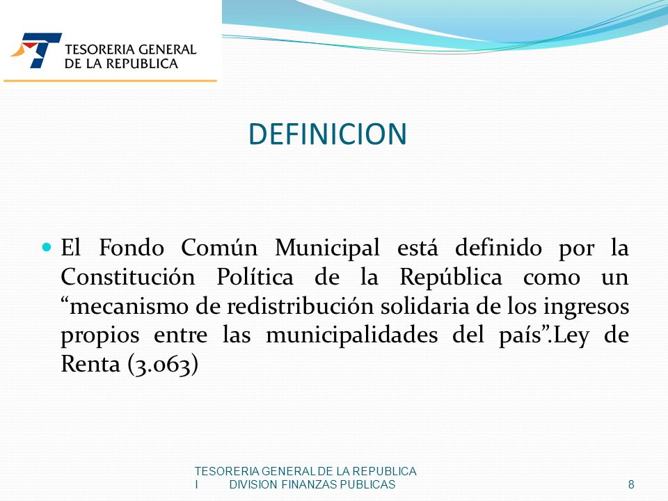 Fondo comun ordinario definicion
