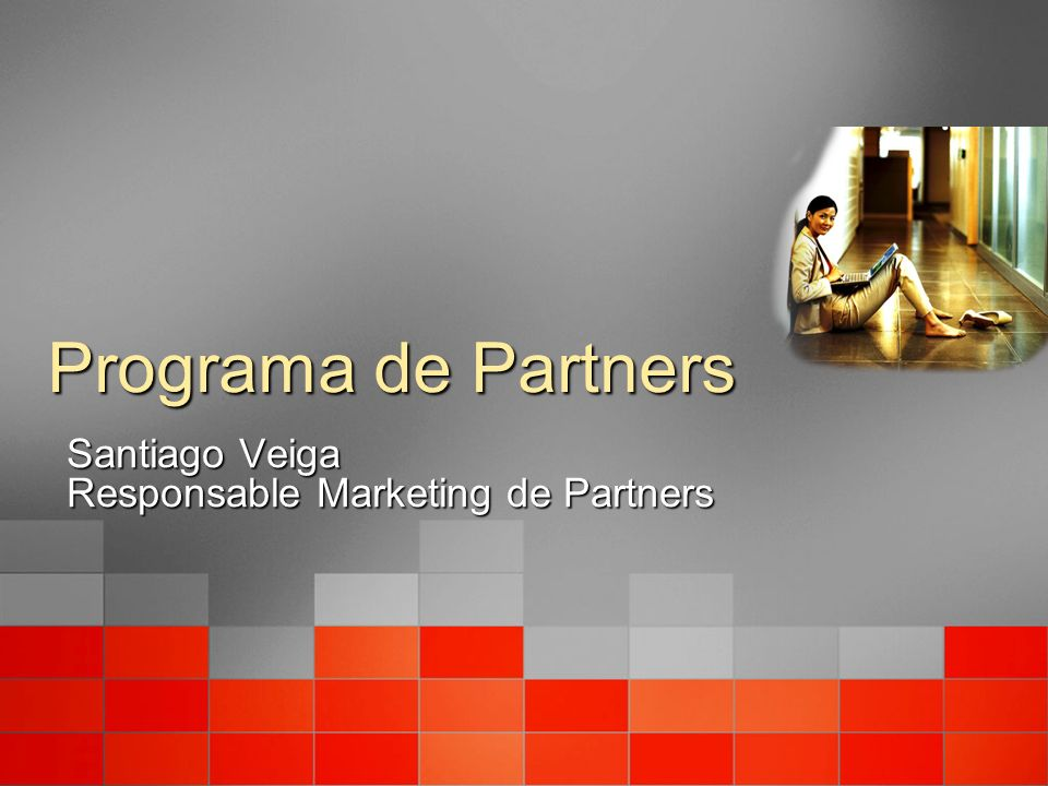 Santiago Veiga Responsable Marketing de Partners