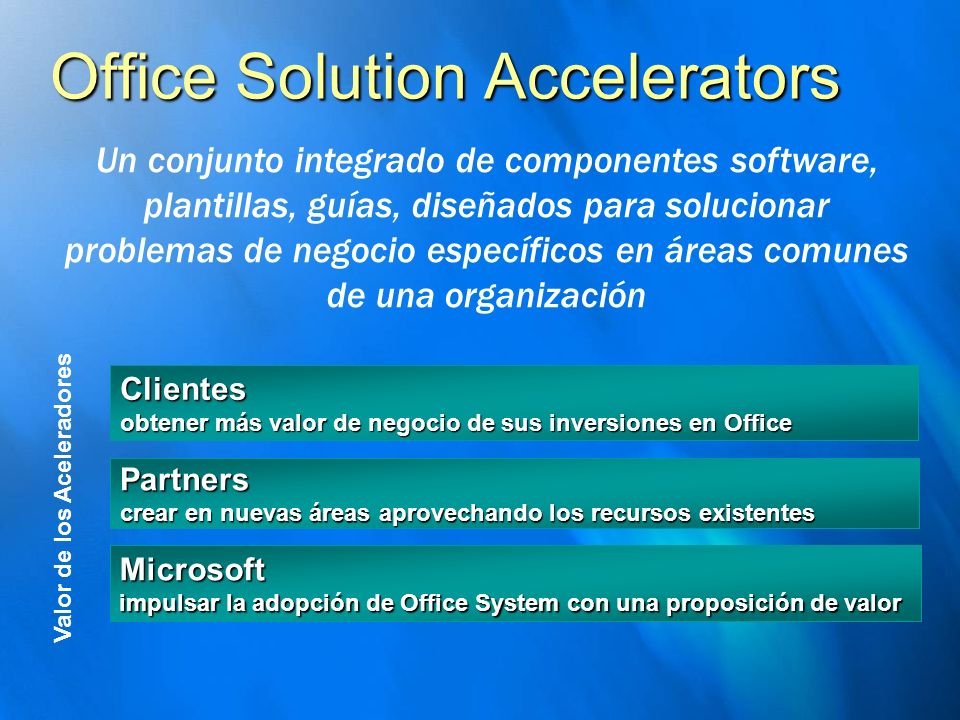Office Solution Accelerators