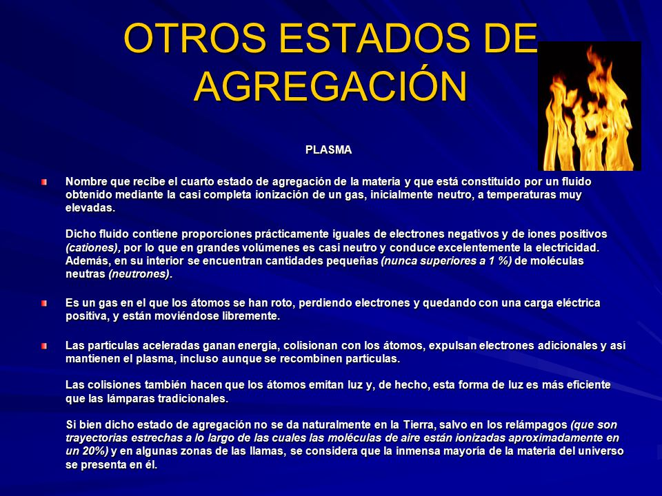 ESTADOS DE AGREGACION.. - ppt video online descargar