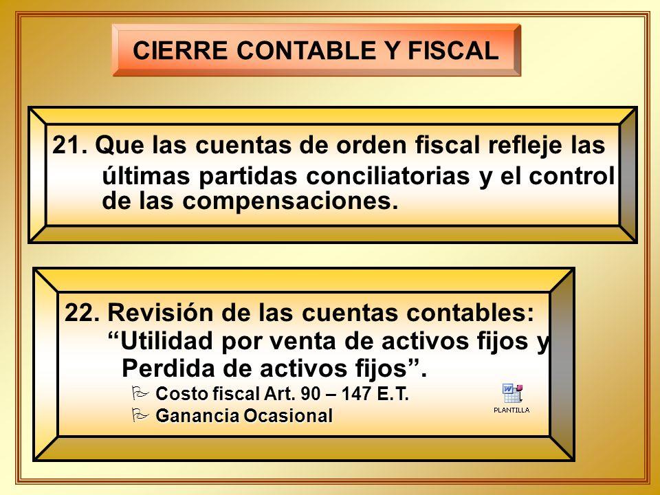 PREPARACION Y CONTROL DEL CIERRE FISCAL ppt descargar