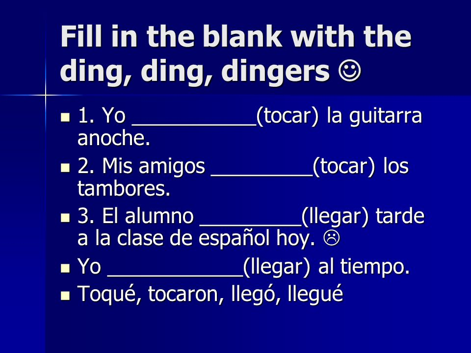 Fill in the blank with the ding, ding, dingers 