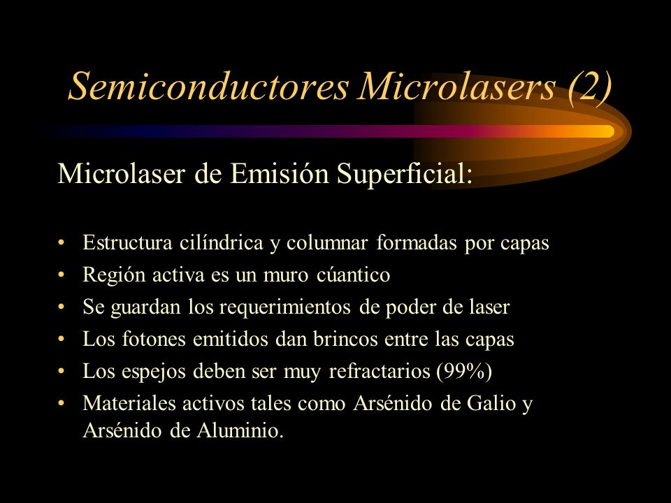 Semiconductores Microlasers (2)