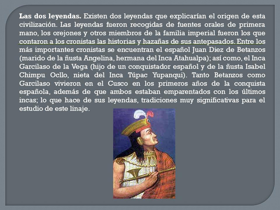 LEYENDAS SOBRE EL ORIGEN DEL TAHUANTINSUYO - ppt video