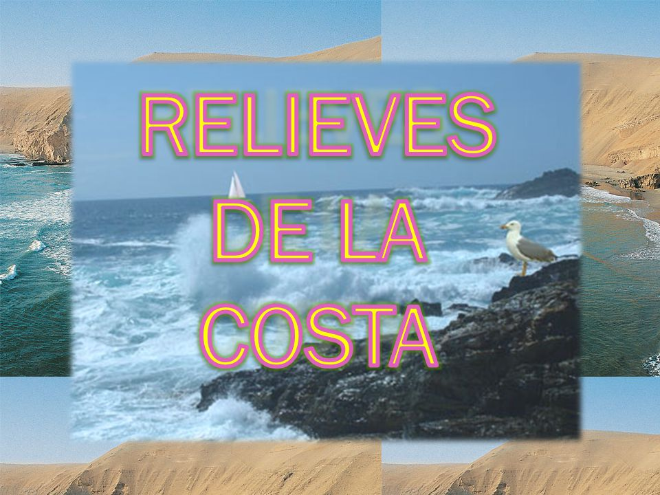 RELIEVES DE LA COSTA