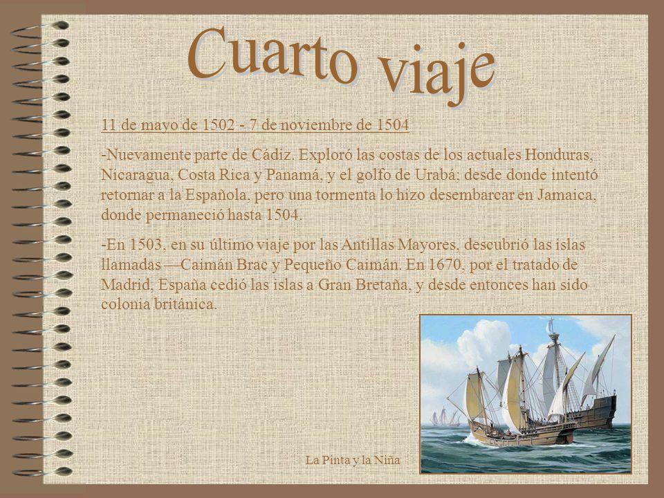 Los viajes de Cristóbal Colón - ppt video online descargar