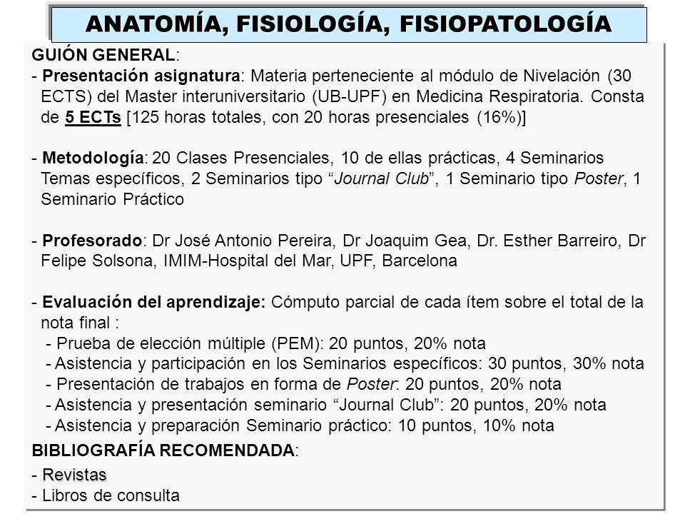 Master en Medicina Respiratoria - ppt descargar