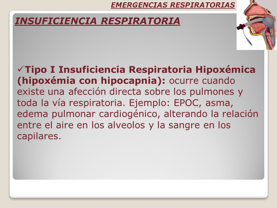 INSUFICIENCIA RESPIRATORIA