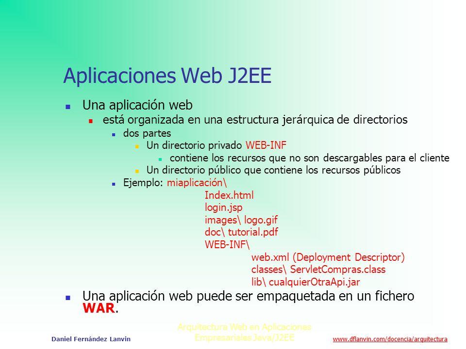Arquitectura Web En Aplicaciones Empresariales Java J2ee