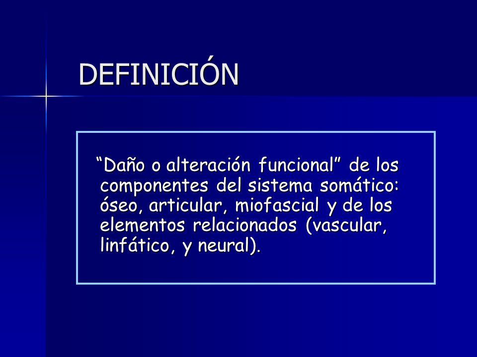 DISFUNCION SOMATICA Michael L. Kuchera - ppt descargar