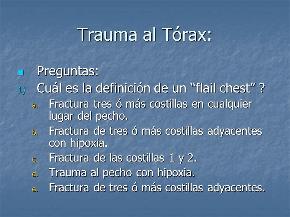 Trauma al Tórax Salvador E. Villanueva MD, FACEP - ppt descargar