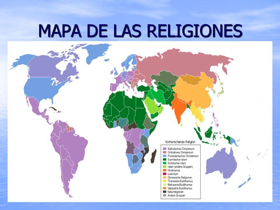 Jesucristo se me ha manifestado y me ha amado...                                     MAPA+DE+LAS+RELIGIONES