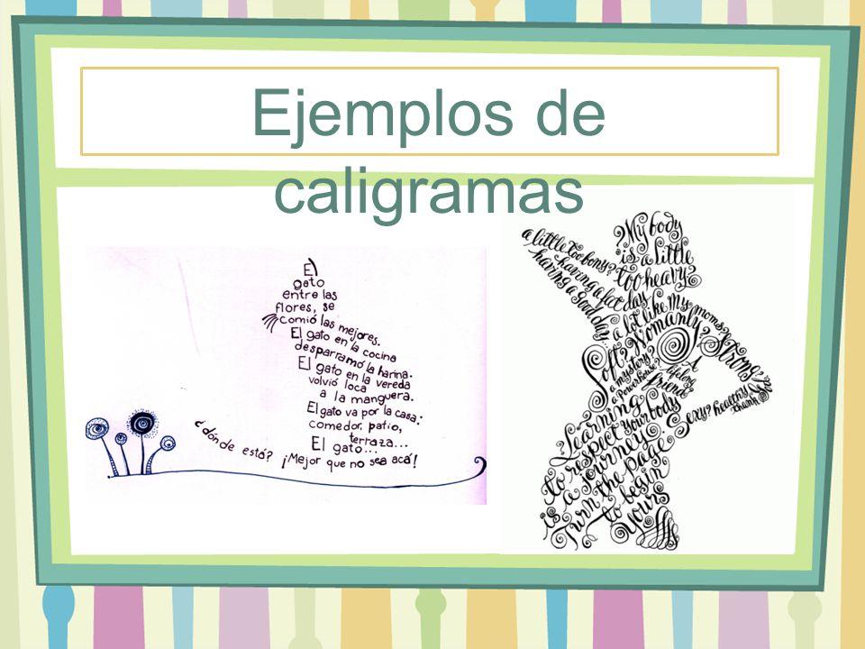 Los Caligramas Ppt Video Online Descargar