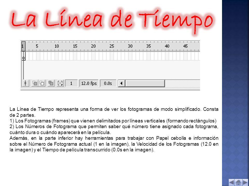 Macromedia flash 8 Barra de Menús . Capas . Línea de Tiempo . - ppt ...
