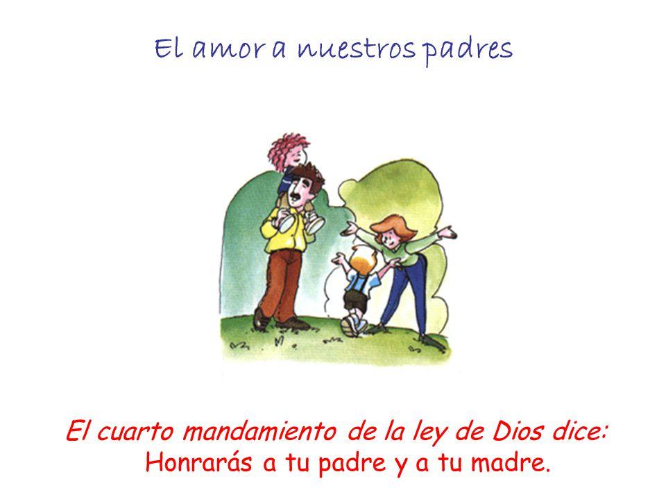 Cuarto Mandamiento Querer a nuestros papás y hermanos - ppt ...