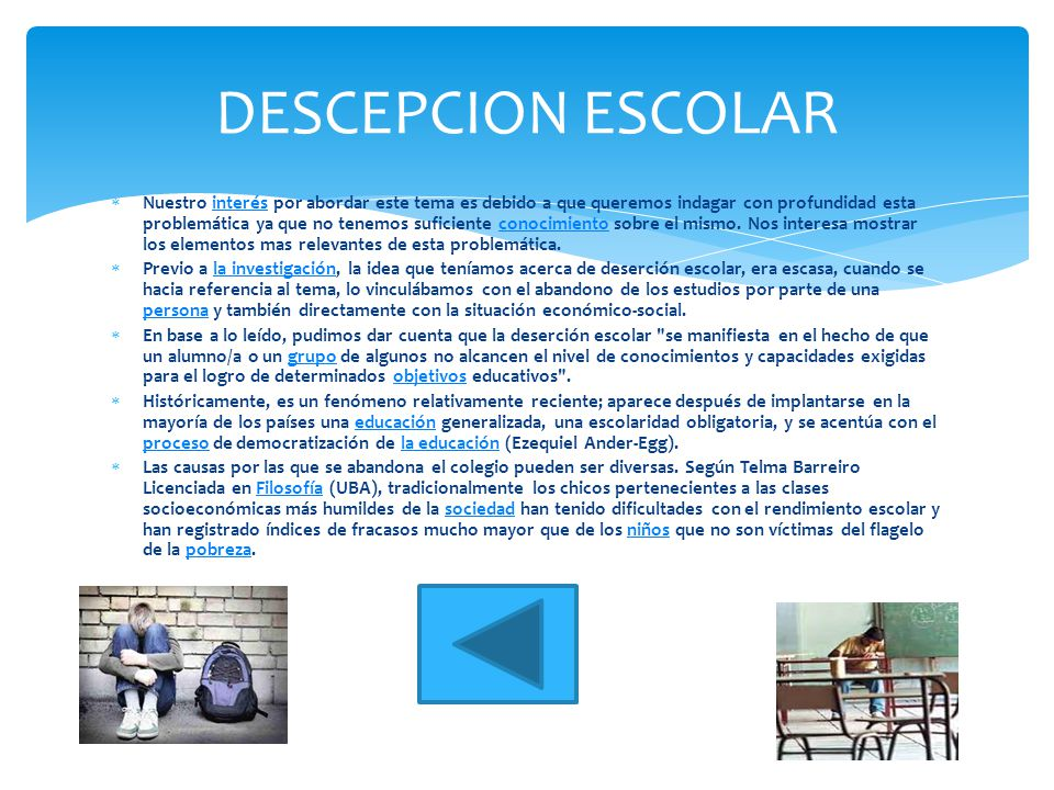 DESCEPCION ESCOLAR