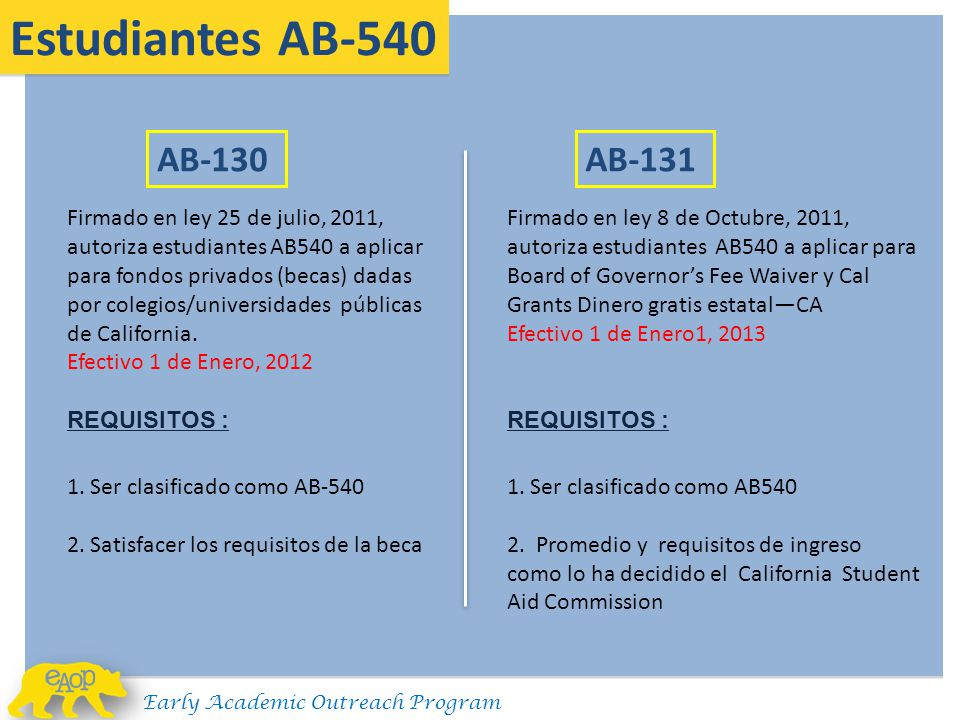 """UCLA's Early Academic Outreach Program """"Conferencia"""