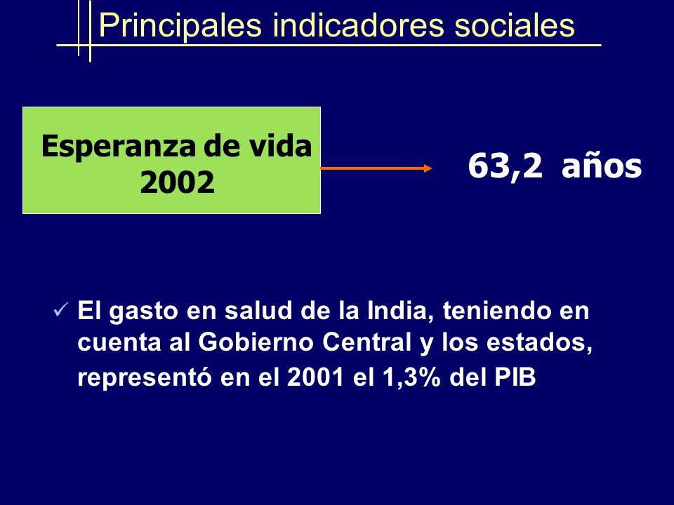 Desempeño Económico y Social de la India - ppt descargar