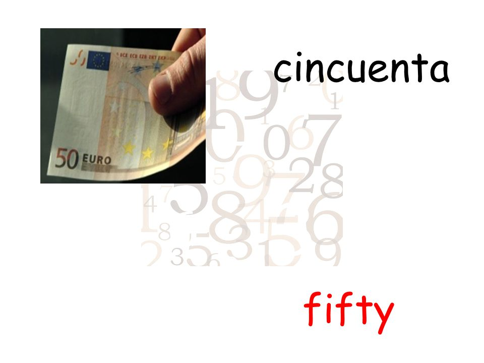 cincuenta fifty