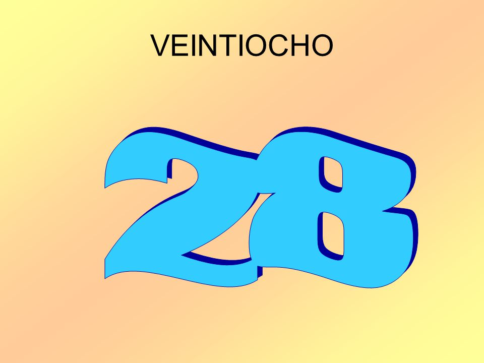 VEINTIOCHO 28