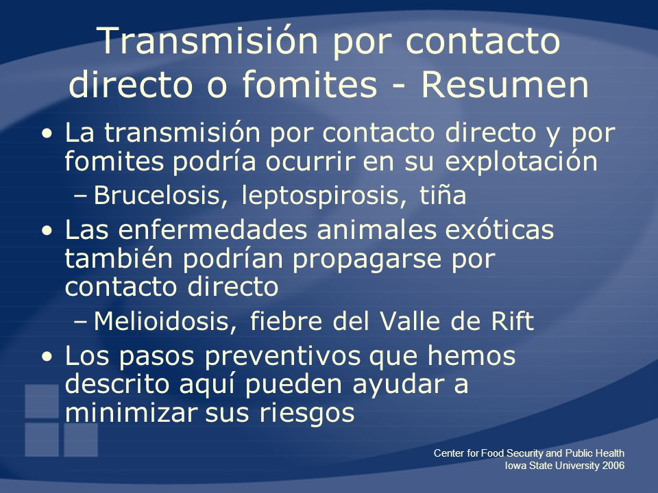 Aplicaciones pr cticas para el manejo de riesgos - Can ringworm spread in a swimming pool ...