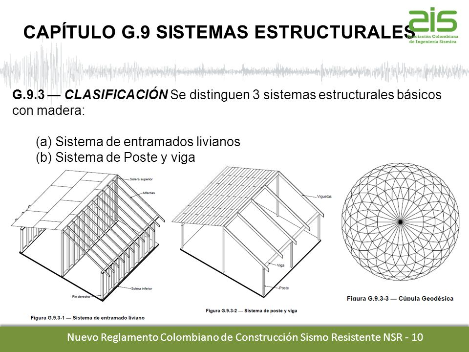 TITULO G NSR-10 Estructuras de madera y Estructuras de guadua - ppt ...