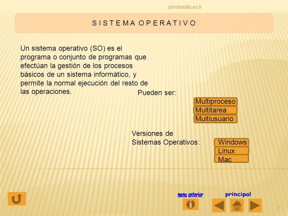Sistemas Operativos: Windows Linux Mac