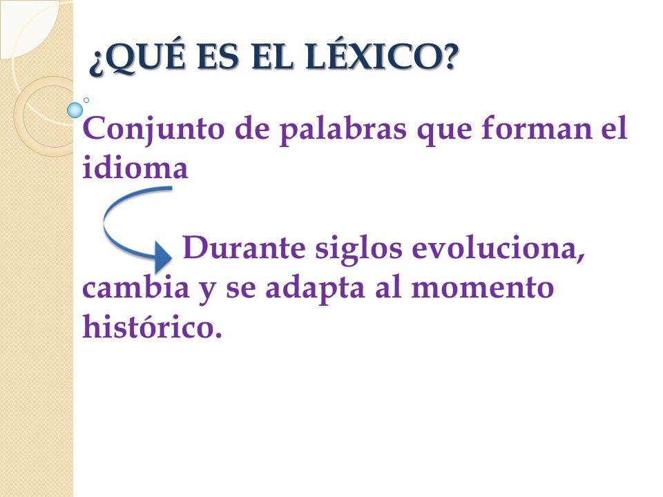 Resultado de imagen de lexico