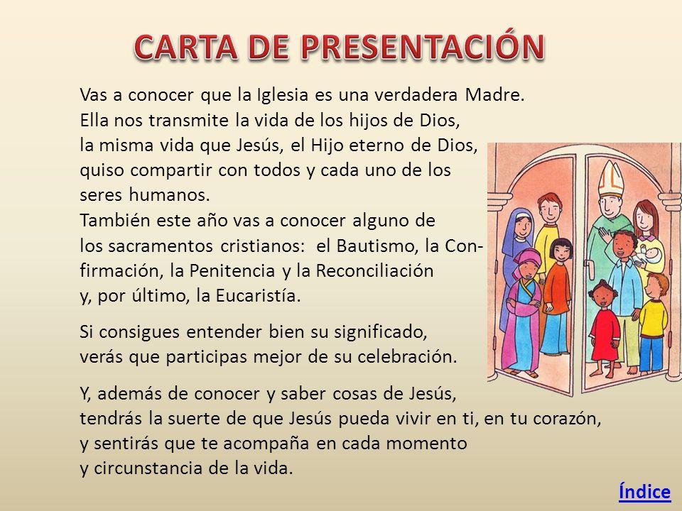 índice Carta De Presentación El Catecismo Jesús Es El Señor Ppt