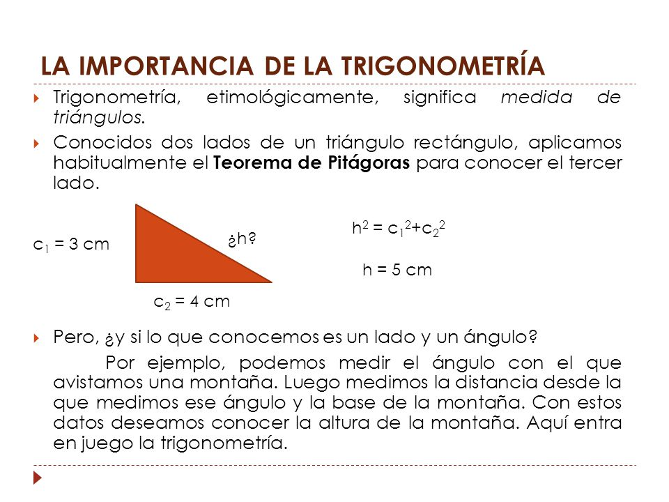 TRIGONOMETRÍA MATEMÁTICAS 4º ESO. - ppt descargar