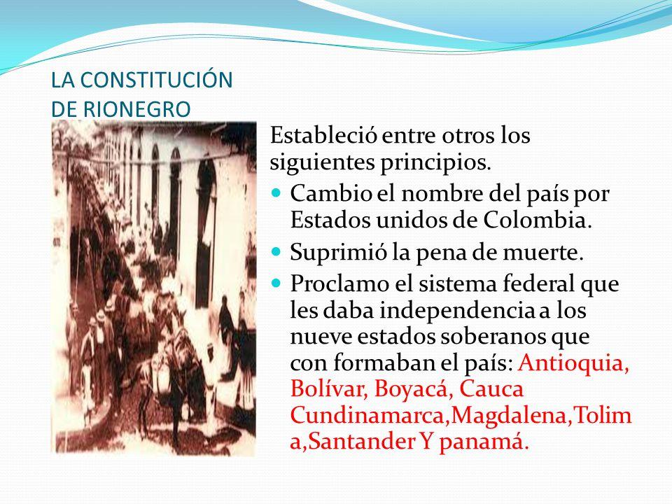 CONSTITUCION DE RIONEGRO - ppt descargar