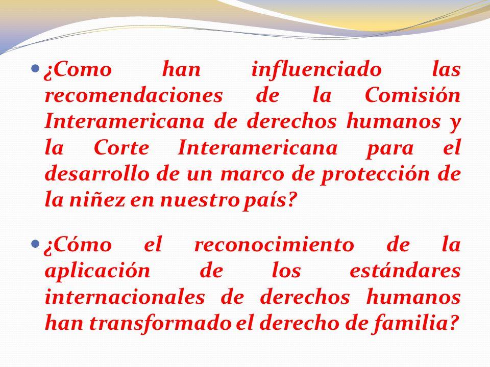 La transformación de la institución de la tutela por el acogimiento ...