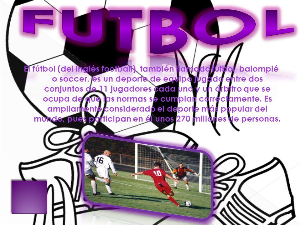 Por Qué Se Juega Al Fútbol Con 11 Jugadores Por Equipo: Deportes Baloncesto Voleibol Futbol Tenis Natación.