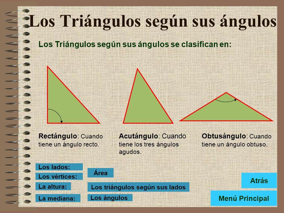 Resultado de imagen de TRIANGULOS SEGUN SUS ANGULOS