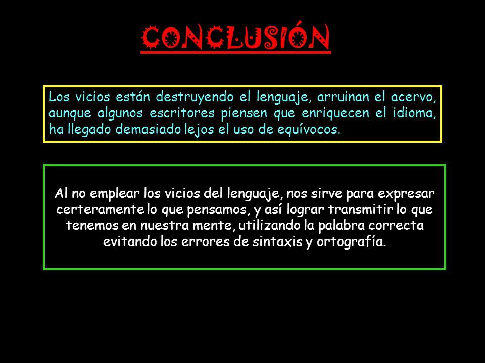 """Vicios del Lenguaje""""  - ppt video online descargar"""