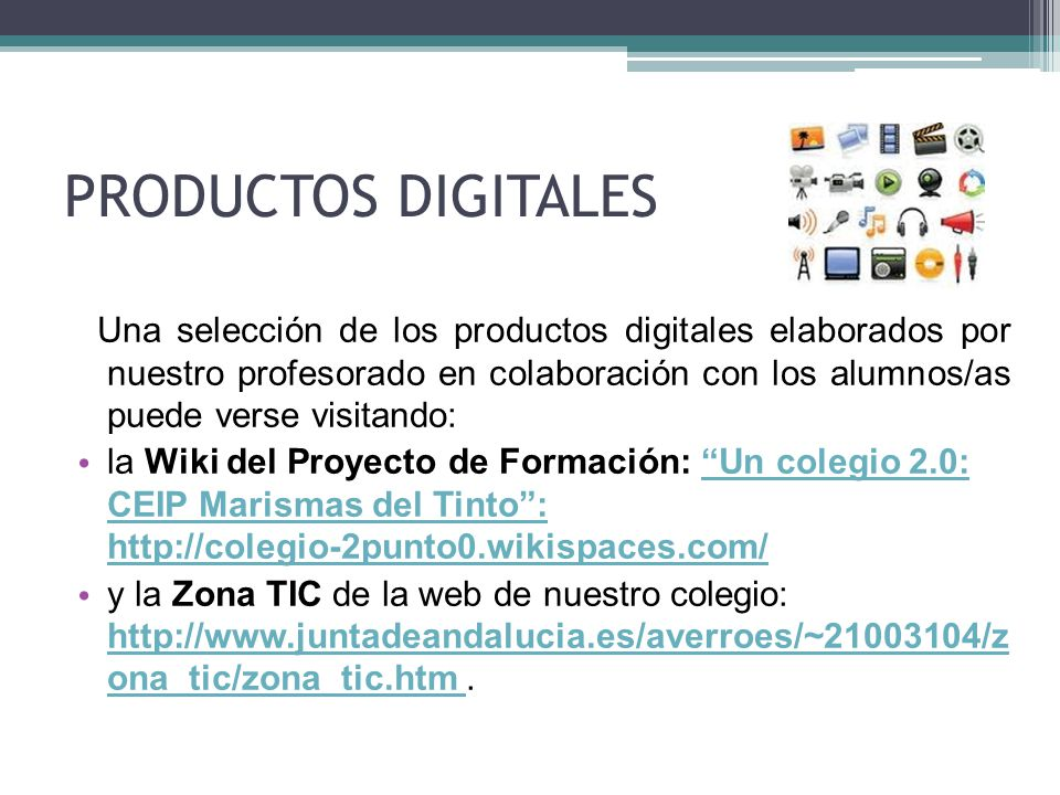 PRODUCTOS DIGITALES