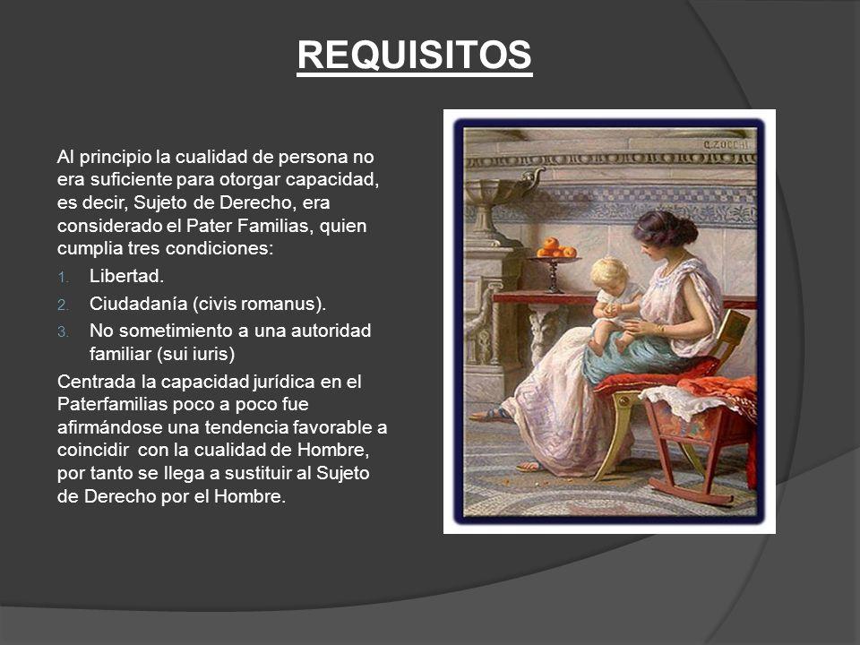 20fbfe435040 SUJETO DE DERECHO Todo ente susceptible de tener derechos o deberes ...