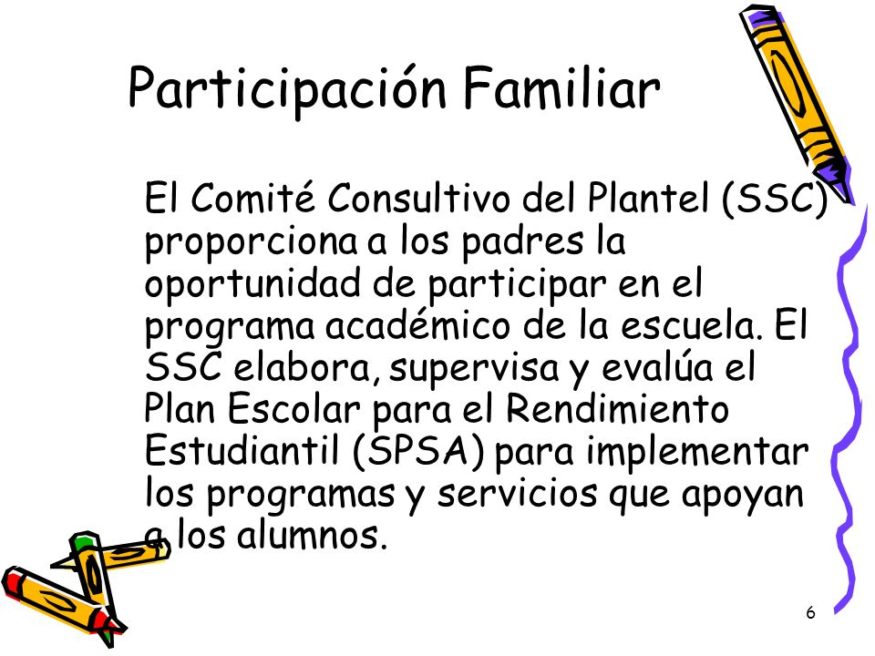 Participación Familiar