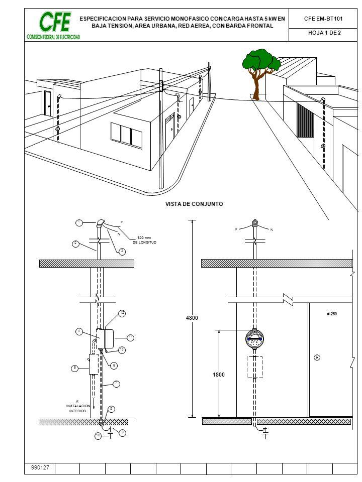 acometida electrica cfe pdf