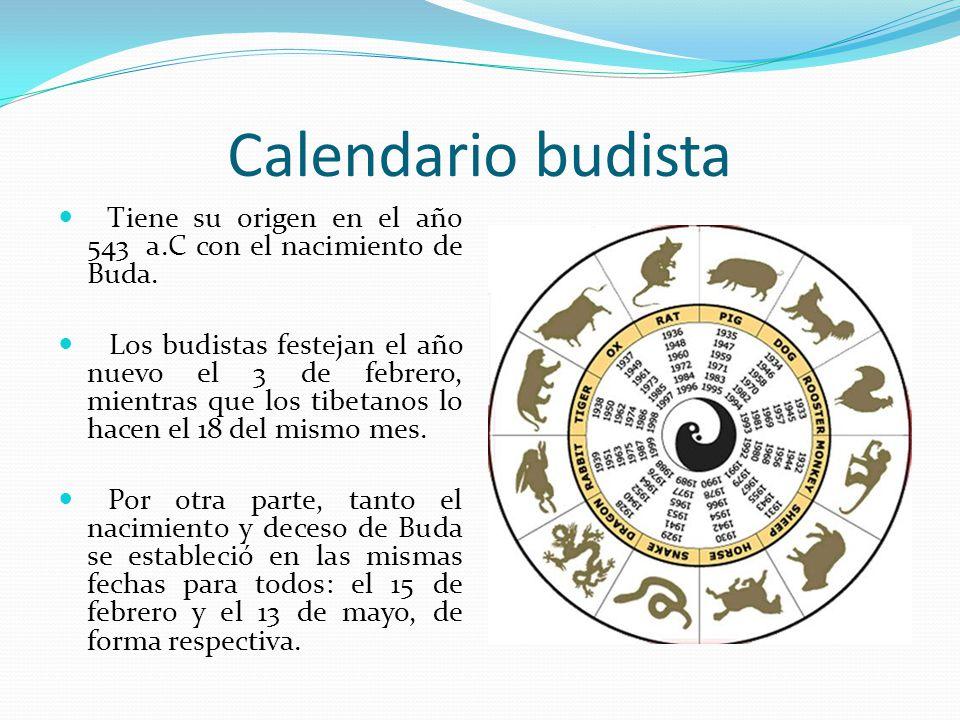 Calendario Del Ano 1957.El Calendario Ppt Video Online Descargar