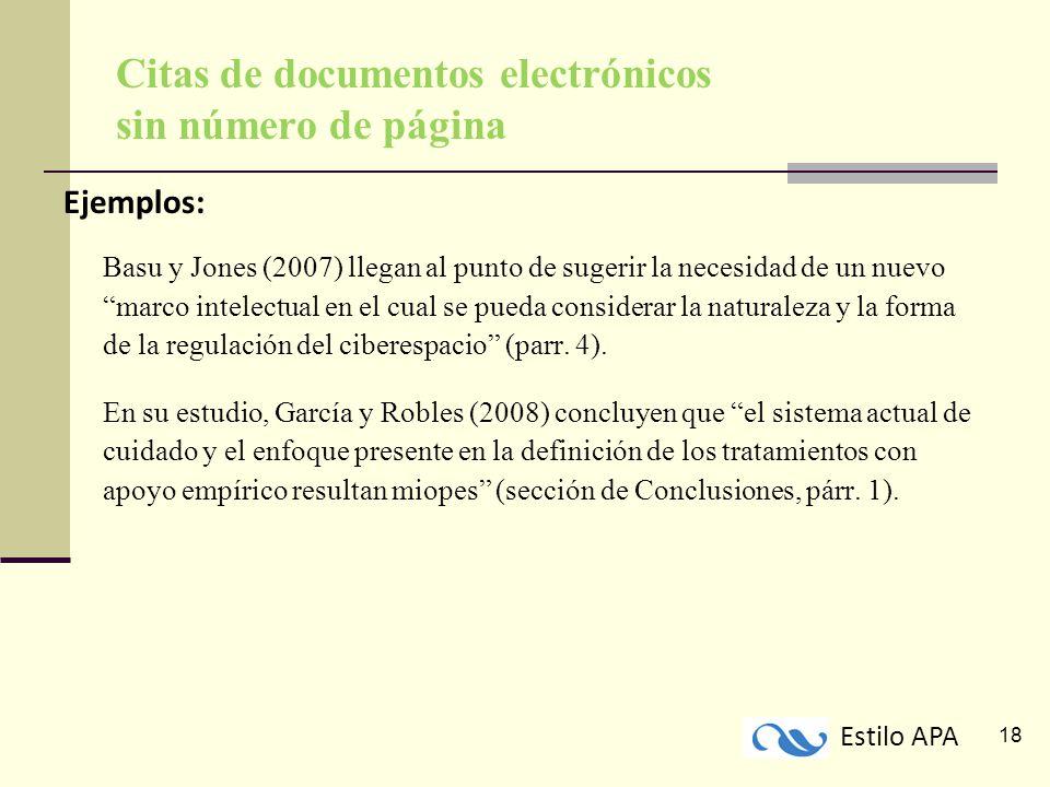 Citas Referencias Y Formato Del Documento Ppt Descargar