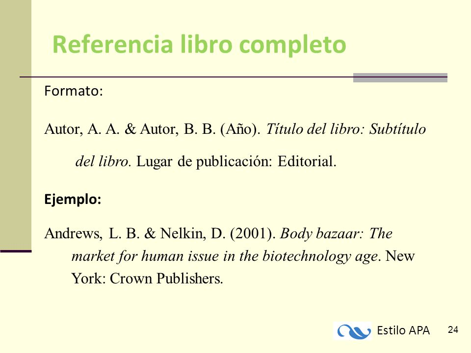 Citas Referencias Y Formato Del Documento Ppt Descargar