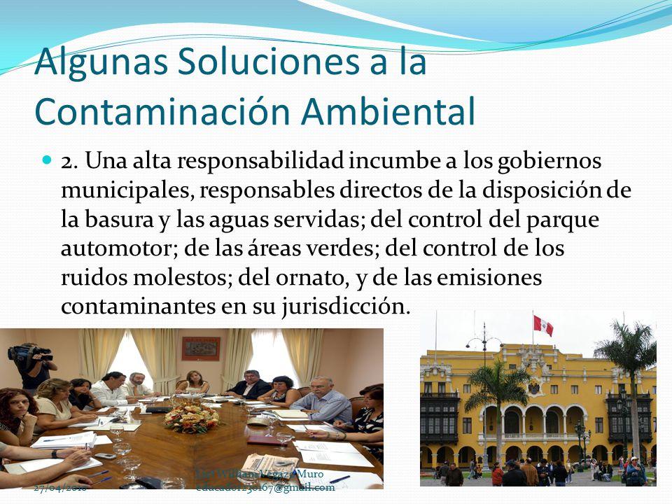 La Contaminación Ambiental - ppt descargar