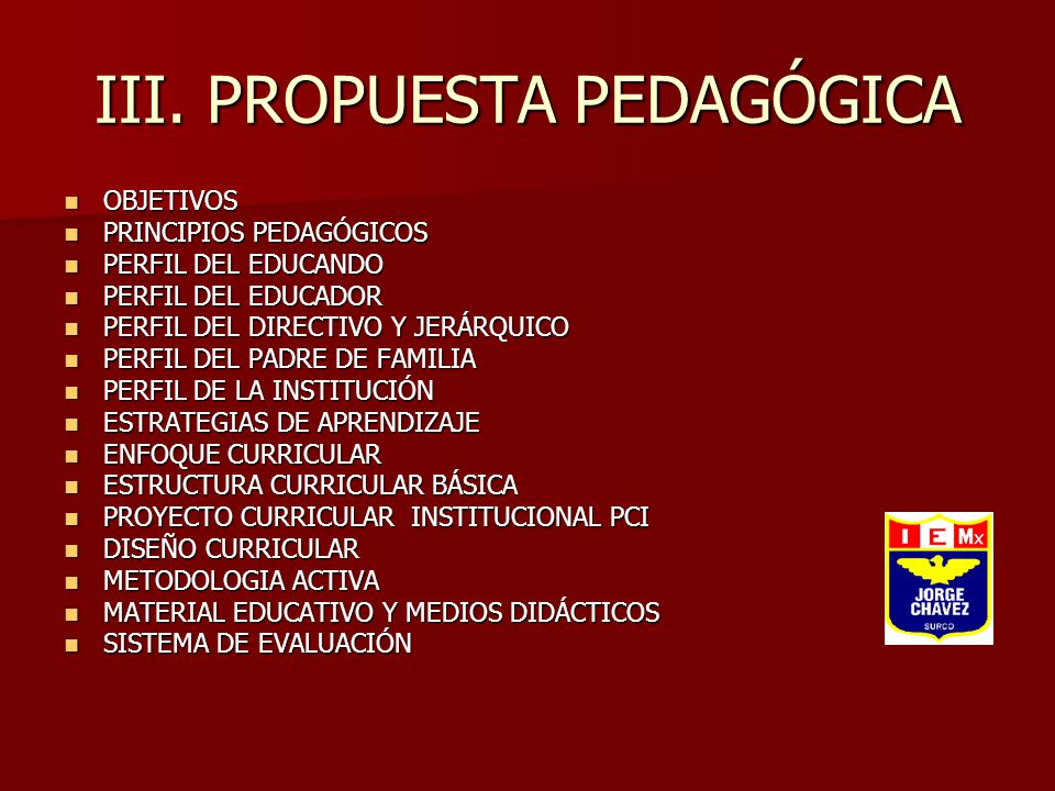 Proyecto Educativo Institucional Ppt Video Online Descargar