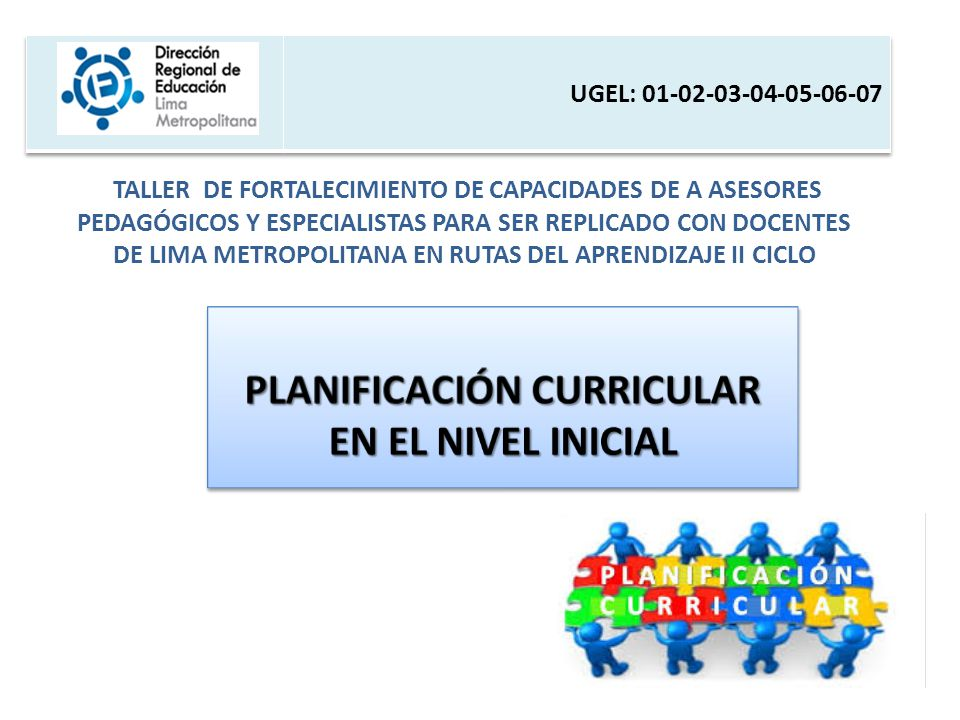 Planificaci n curricular en el nivel inicial ppt video for Planificacion de educacion inicial