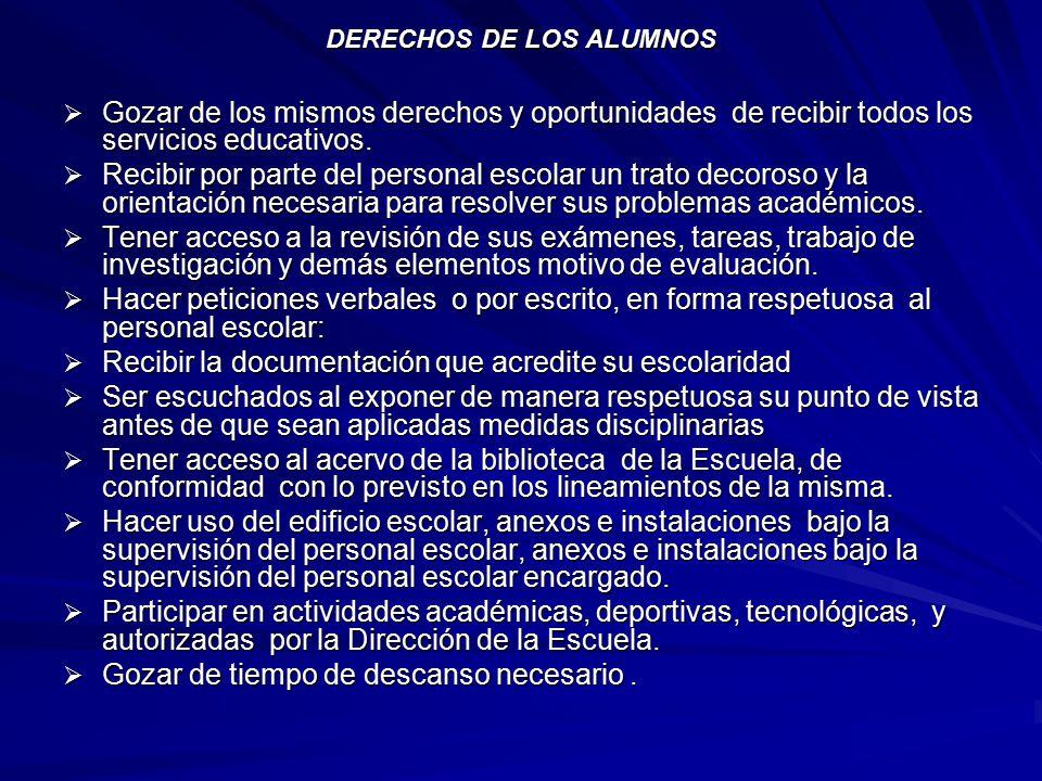 Informacion Basica Del Reglamento Escolar Ppt Descargar