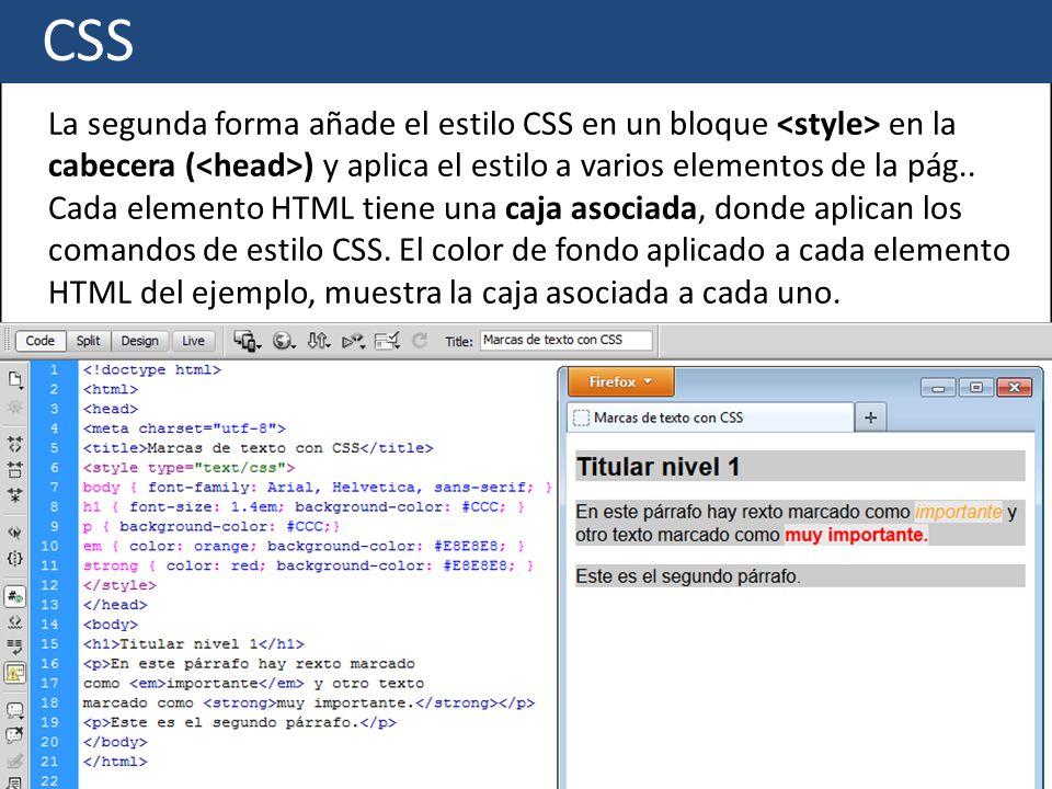 HTML/CSS Marcas básicas. - ppt descargar