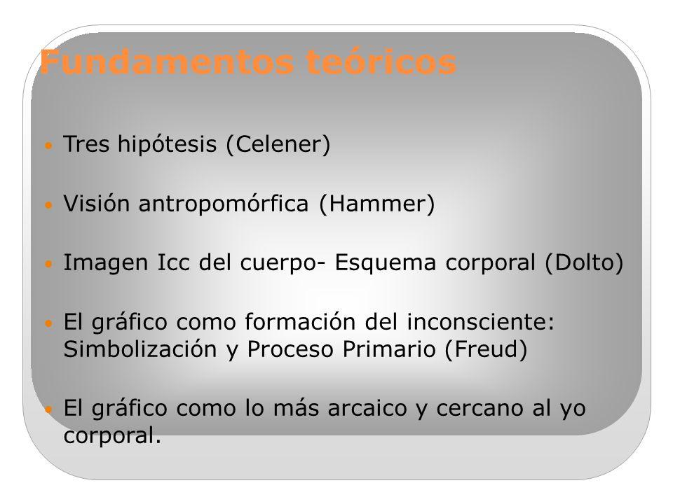 TÉCNICAS GRÁFICAS POSTULADOS TEÓRICOS: E.Hammer- D.Liberman- S ...