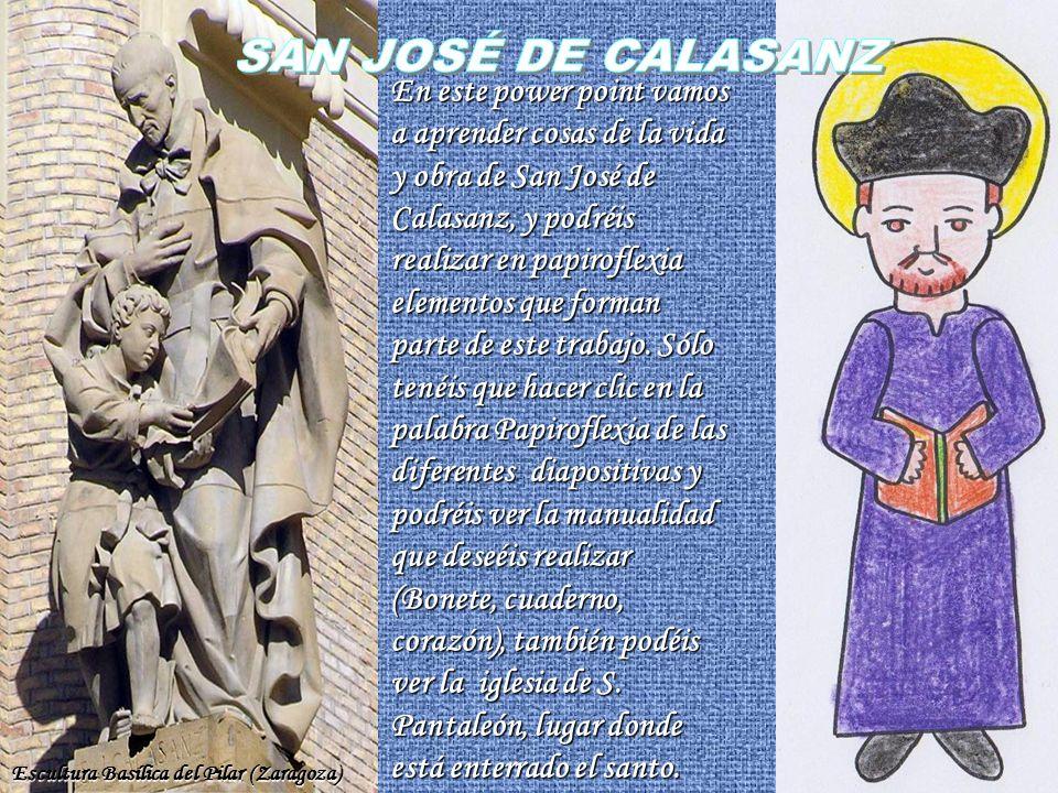 San Jose De Calasanz En Este Power Point Vamos A Aprender Cosas De