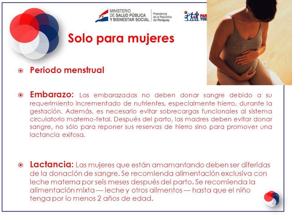Ciclo menstrual durante lactancia